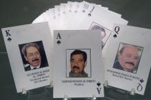 Le jeu de cartes donné à la population irakienne pour inciter à la délation
