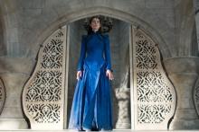 """Rosamund Pike dans le rôle de Moiraine dans """"The Wheel of Time"""""""