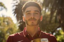 Josh Cavallo, joueur professionnel de football en Australie.