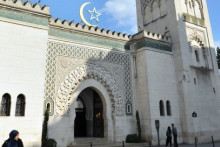 La Grande Mosquée de Paris, le 19 mars 2012
