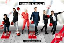 RTL2 dévoile sa grille pour la rentrée 2021-2022