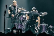 Metallica a enflammé l'AccorHotels Arena les 8 et 10 septembre 2017