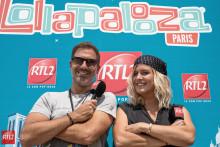 Gregory Hascher & Justine Salmon au Lollapalooza