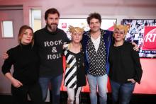 -M- en compagnie d' Eric Jean Jean et de Mathilde Courjeau dans les studios de RTL2