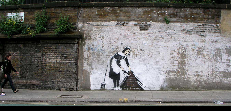 Son street-art a été partout à travers le monde