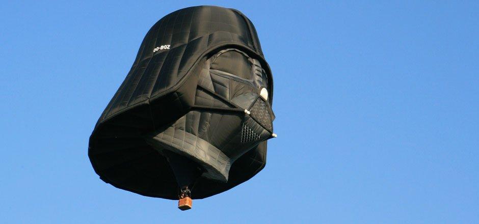 La mongolfière Dark Vador n'est pas à vendre