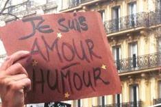 """""""Je suis Amour, Humour"""", à Paris"""