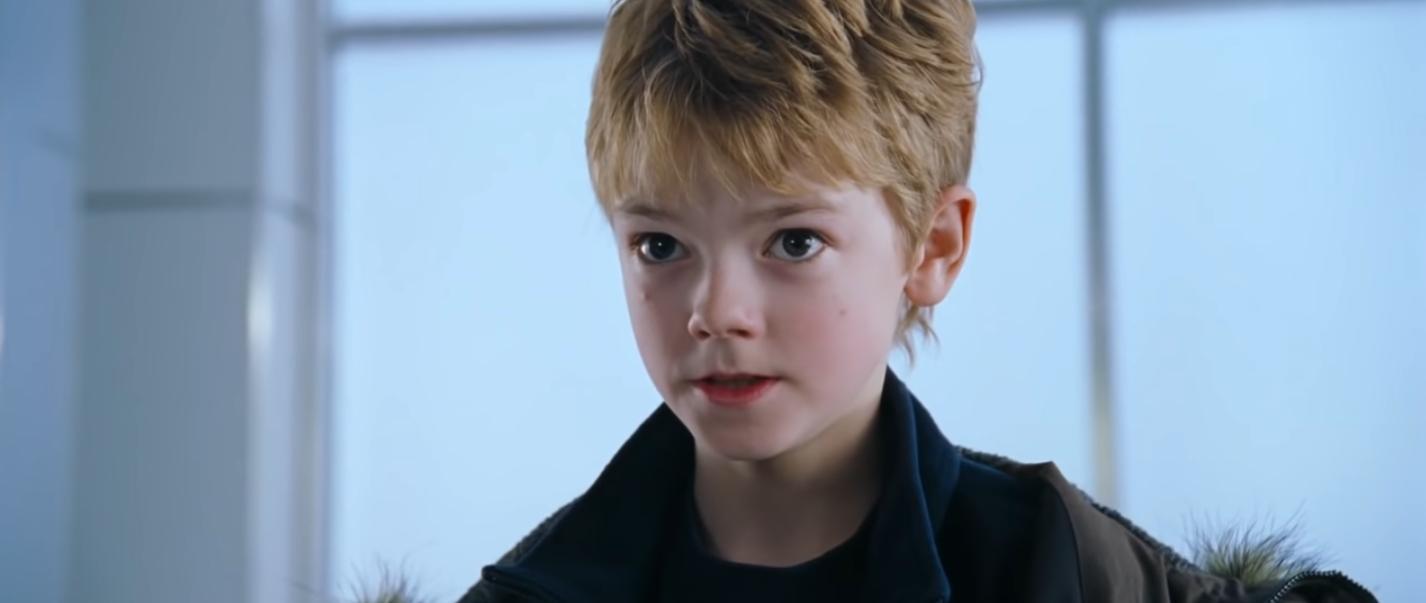 """Et comment oublier Thomas Brodie-Sangster dans le rôle de Sam dans """"Love Actually"""" ?"""