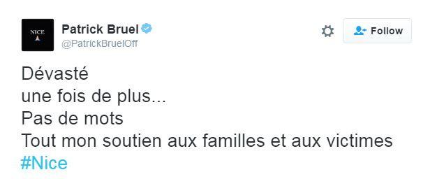"""Patrick Bruel, sous le choc, """"dévasté"""", apporte son soutien aux victimes"""