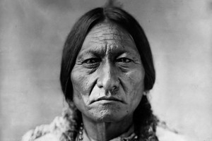 Le chef indien Sitting Bull