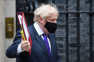 Boris Johnson, le 2 décembre 2020