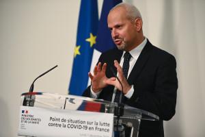 Le directeur général de la Santé, Jérôme Salomon, lors d'un point presse sur la crise du coronavirus, le 7 décembre 2020 à Paris.