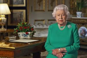 25. La reine Elizabeth II dimanche 5 avril 2020 lors de son allocution à la télévison en pleine pandémie
