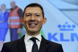 Ben Smith, le DG d'Air France-KLM, en février 2020 à Roissy CDG
