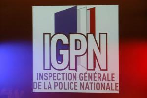 Le logo de l'Inspection générale de la police nationale (IGPN), le 2 septembre 2013.