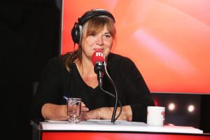 """Michèle Bernier dans """"Les Grosses Têtes"""""""