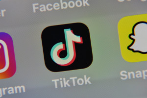 L'application Tik Tok (Illustration)