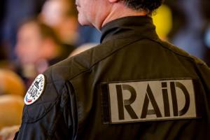 Policier du Raid (Illustration)