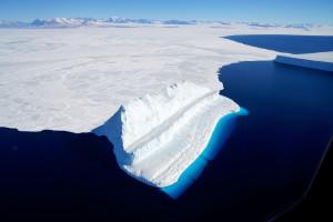 Les glaces de l'Antarctique, photographiées par la NASA
