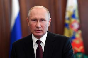 Vladimir Poutine le 27 juin 2020