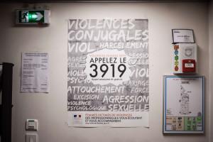 Dans les locaux du Centre d'appel 3919