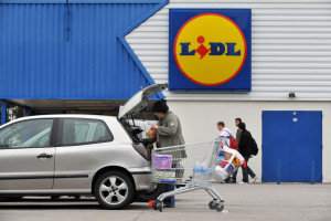 Un magasin Lidl (Illustration).