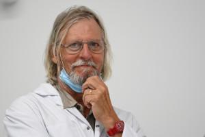 Le professeur Didier Raoult, à Marseille, le 27 août 2020