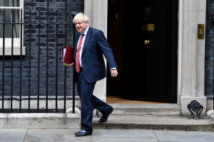 Le Premier ministre britannique Boris Johnson le 2 septembre 2020.