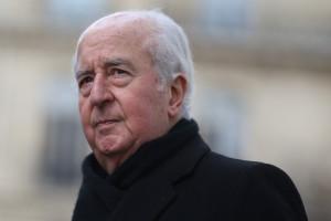 Édouard Balladur à Paris, le 17 janvier 2014.
