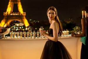 """Lily Collins dans """"Emily in Paris"""""""