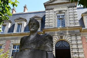 La façade de l'Institut Pasteur, à Paris (illustration).