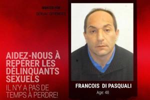 Europol est à la recherche de François Di Pasquali, condamné à dix ans de prison pour viol.