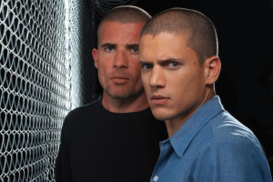 "Dominic Purcell et Wentworth Miller dans ""Prison Break"""