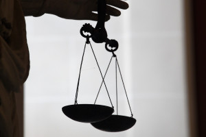 Symbole de la justice (photo d'illustration).