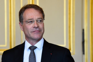 Le président de la CPME, François Asselin