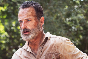 "Rick Grimes dans la saison 9 de ""The Walking Dead"""