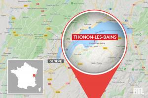 Thonon-les-Bains en Haute-Savoie.