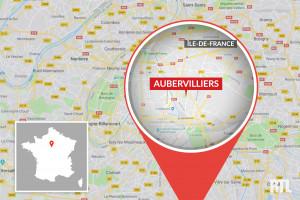 La ville d'Aubervilliers est située en Seine-Saint-Denis