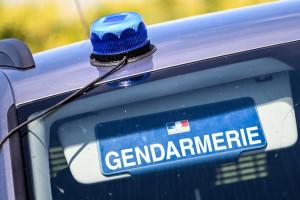 Un véhicule de la gendarmerie française (illustration).