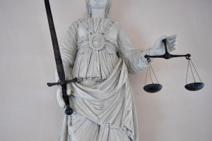 Le symbole de la justice (illustration).