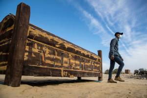 Un sarcophage vieux de plus de 3.000 ans.
