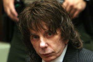Phil Spector au tribunal en mai 2009