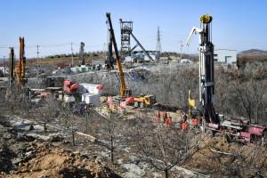L'explosion s'est produite le 10 janvier dans la mine d'or de Qixia en Chine.