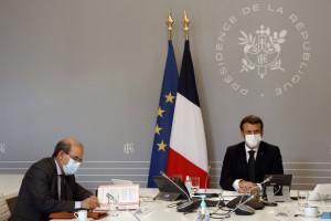 Emmanuel Macron, le 18 janvier 2021