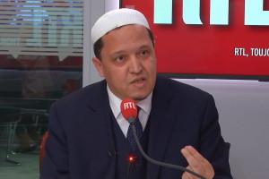 Hassen Chalghoumi, imam de Drancy, invité sur RTL le 21 janvier 2021