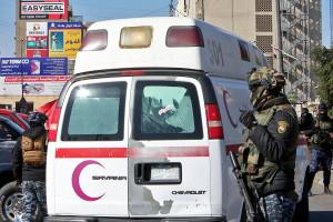 L'attentat s'est produit dans un marché très fréquenté de la capitale irakienne.