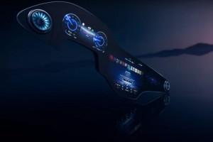 L'Hyperscreen de Mercedes