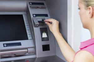 Un distributeur de billets de banque (illustration)