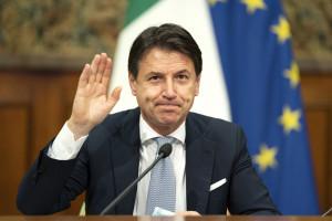 Giuseppe Conte en novembre 2020