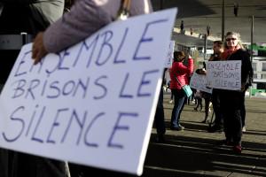 Une manifestation contre le harcèlement et les violences sexuelles le 29 octobre 2017, à Marseille